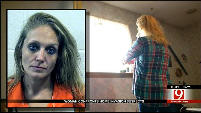 Ada Woman Confronts Home Invasion Suspects