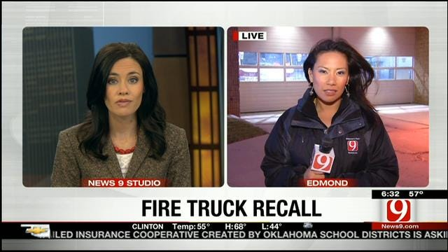 Faulty Part In Fire Trucks Affects Edmond Fire Department