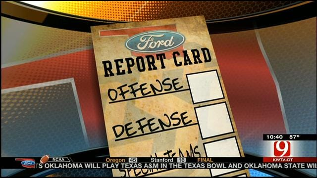 Oklahoma State Football Report Card