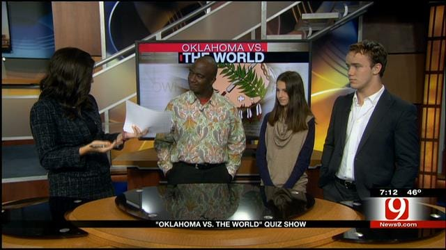 Teens Compete In 'Oklahoma Vs. The World' Quiz Show