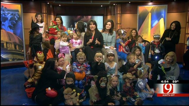 News 9 Gets Spooky Visitors On Halloween