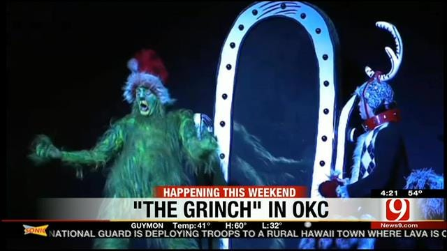 This Weekend At OKC Civic Center: 'The Grinch Who Stole Christmas'