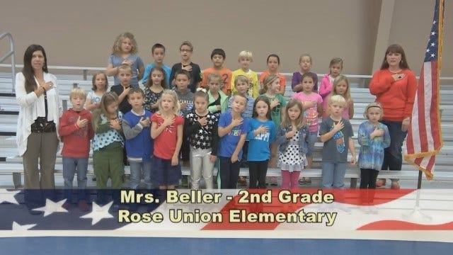 Mrs. Beller's 2nd Grade Class At Rose Union Elementary