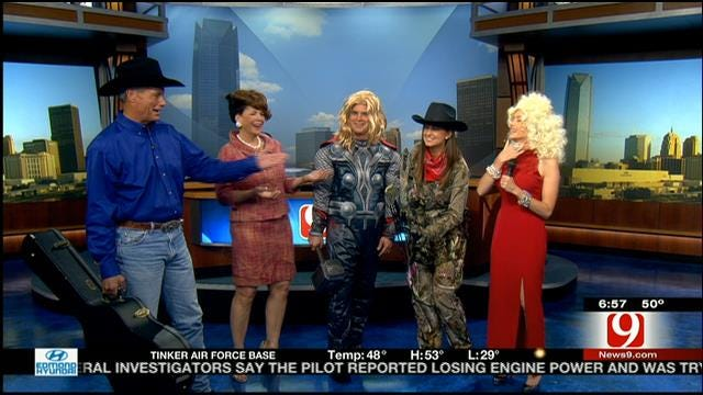 News 9 This Morning Team Shows Off Halloween Costumes