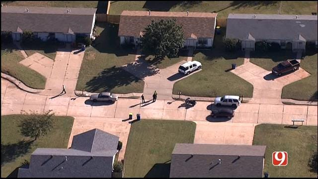 WEB EXTRA: SkyNews 9 Flies Over Homicide Call In Stillwater