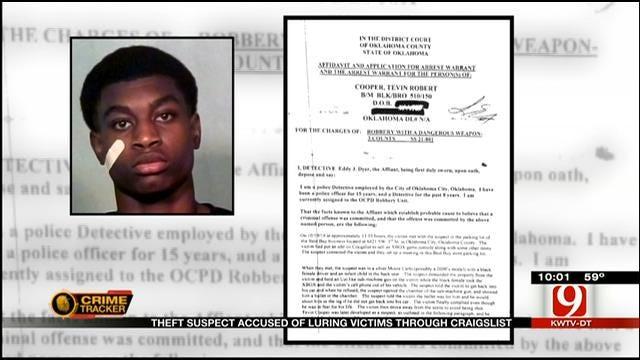 Theft Suspect Accused Of Luring Victims Through Craigslist