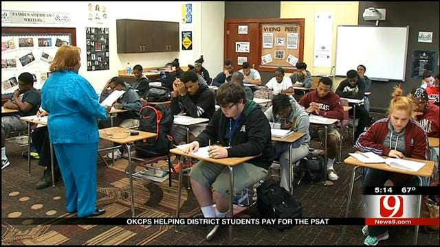 OKCPS Pays For All Juniors, Sophomores To Take PSAT Test