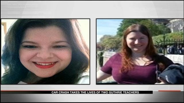 Car Crash Takes The Lives Of Two Guthrie Teachers