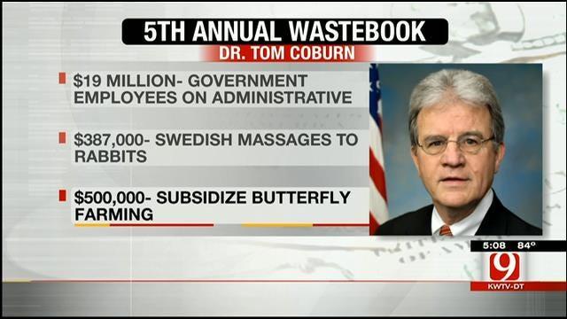 Sen. Tom Coburn's 5th Annual 'Wastebook'