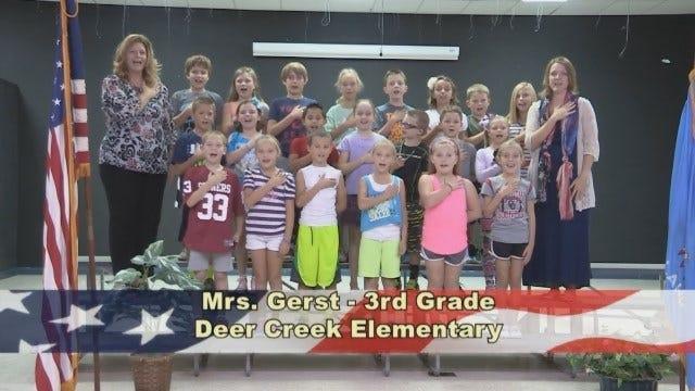 Mrs. Gerst's 3rd Grade Class At Deer Creek Elementary School