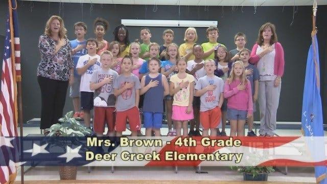 Mrs. Brown's 4th Grade Class At Deer Creek Elementary School