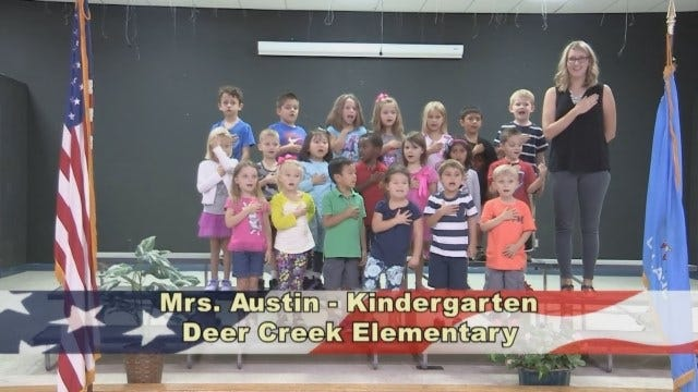 Mrs. Austin's Kindergarten Class At Deer Creek Elementary School