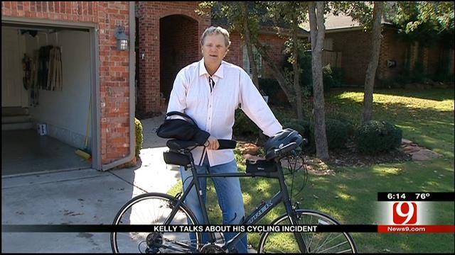 News 9's Kelly Ogle Talks About His Cycling Accident
