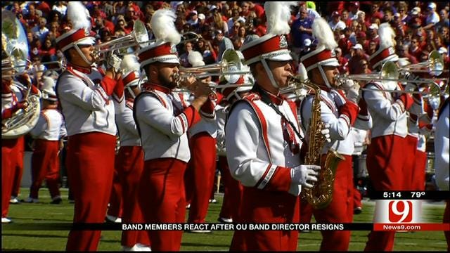 Band Members React After OU Band Director Resigns