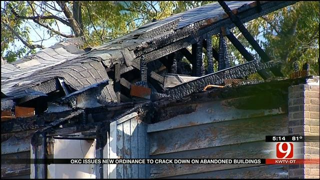 OKC Issues New Ordinance To Crack Down On Abandoned Buildings