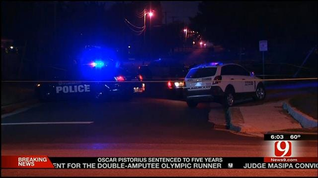 Police Investigate Homicide After Body Found On Road In SW OKC