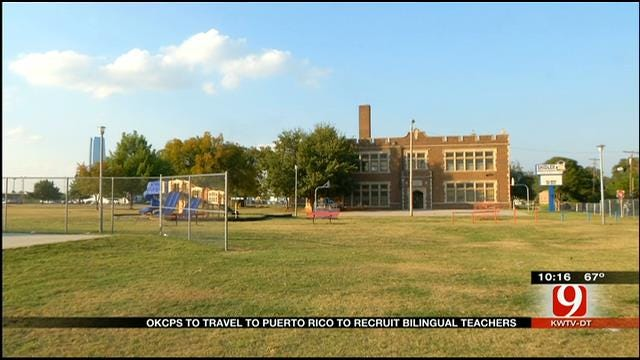 OKC School District Seeks More Teachers Abroad