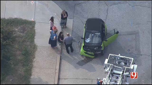 Person Hit By Car In Downtown OKC