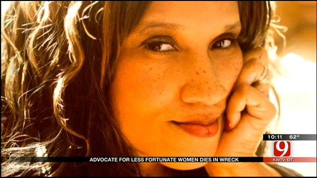 OKC Advocate For Less Fortunate Women Dies In Crash