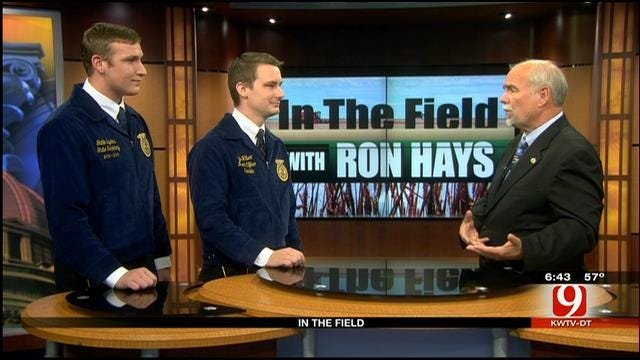 In The Field: Kyle Hilbert, Gatlin Squires