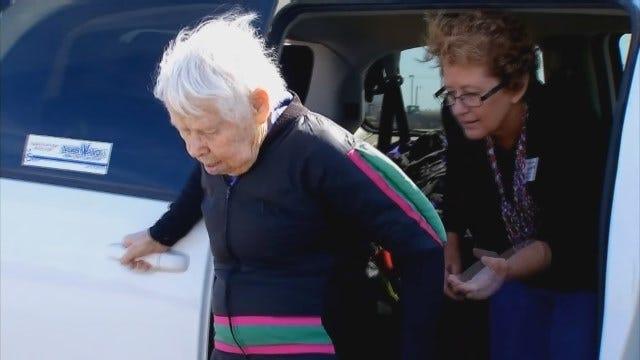 91-Year-Old Wakita Nursing Home Resident Skydives