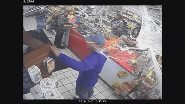Police: 2 Men Wanted For Stealing Lottery Tickets In SE OKC