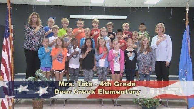 Mrs. Tate's 4th Grade Class At Deer Creek Elementary