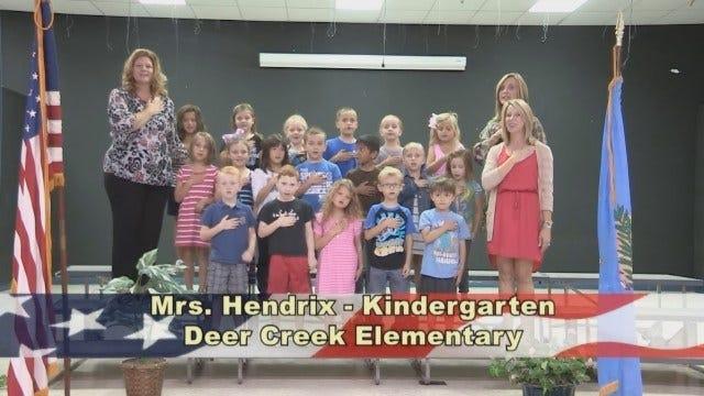 Mrs. Hendrix's Kindergarten Class At Deer Creek Elementary.