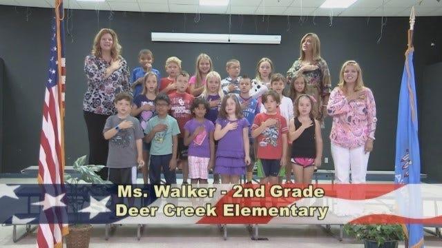 Ms. Walker's 2nd Grade Class At Deer Creek Elementary