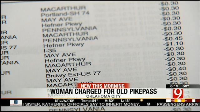OKC Woman Gets Hefty Bill Due To PikePass Left In Sold Car
