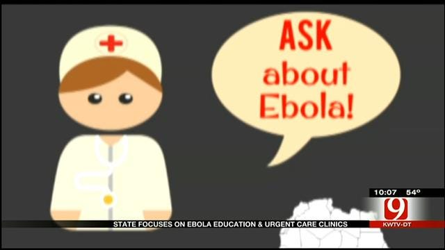 State Focuses On Ebola Education And Urgent Care Clinics