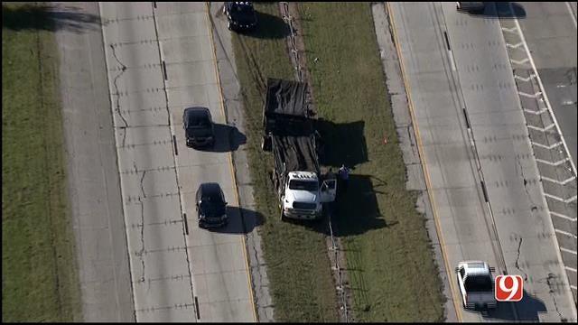 WEB EXTRA: SkyNews9 Flies Over Semi Crash On EB I-40
