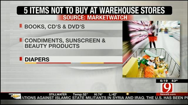 Five Things Not To Buy At Warehouse Stores