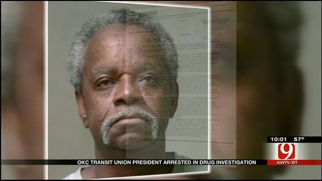 OKC Transit Union President Arrested In Drug Investigation