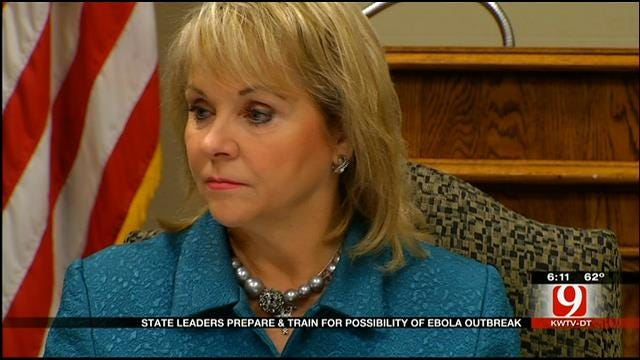 State Leader Meet At Capitol To Discuss Ebola Preps