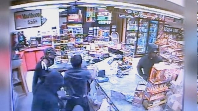 WEB EXTRA: Armed Robbery Of NW OKC Store