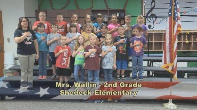 Mrs. Wallin's 2nd Grade Class At Shedeck Elementary School