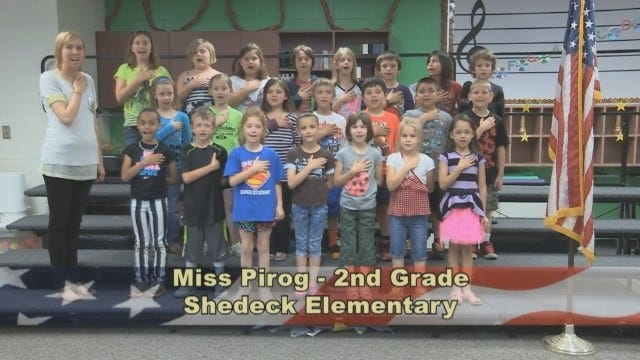 Ms. Pirog's 2nd Grade Class At Shedeck Elementary School