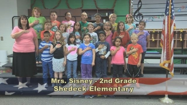 Mrs. Sisney's 2nd Grade Class At Shedeck Elementary School