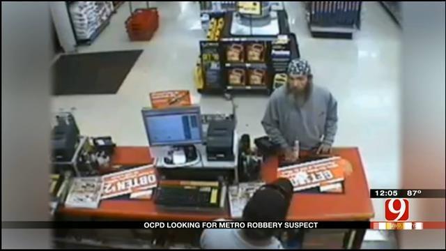 Police Release Surveillance Video Of OKC Auto Zone Robbery