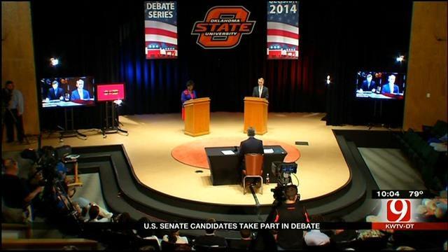 Oklahoma US Senate Candidates Spar In Debate
