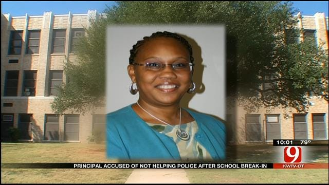 Taft Middle School Principal Accused Of Not Helping Police After Break-In