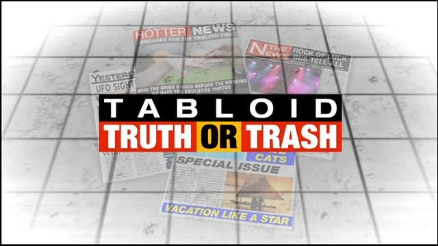 Tabloid Truth or Trash For Tuesday, October 7