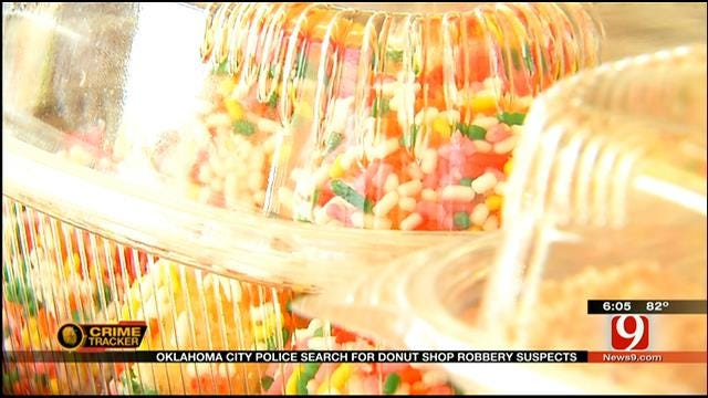 Caught On Camera: 3 Suspects Rob OKC Donut Shop