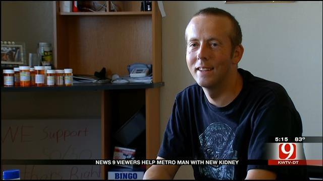 News 9 Viewers Help Norman Man Receive New Kidney