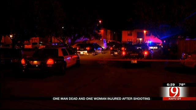 Witnesses Describe NW OKC Apartment Complex Shooting Scene