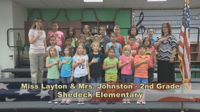Ms. Layton And Mrs. Johnston's 2nd Grade Class At Shedeck Elementary