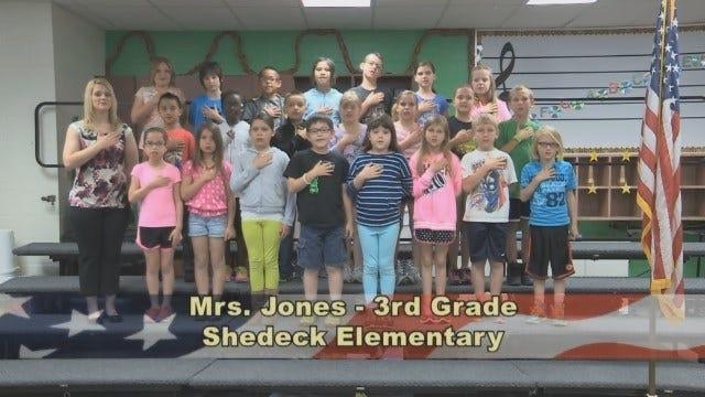 Mrs. Jones' 3rd Grade Class At Shedeck Elementary