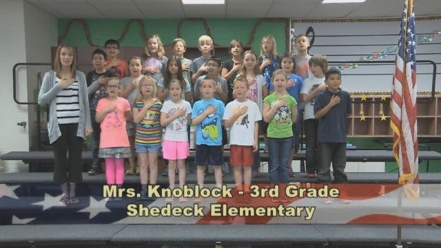 Mrs. Knoblock's 3rd Grade Class At Shedeck Elementary