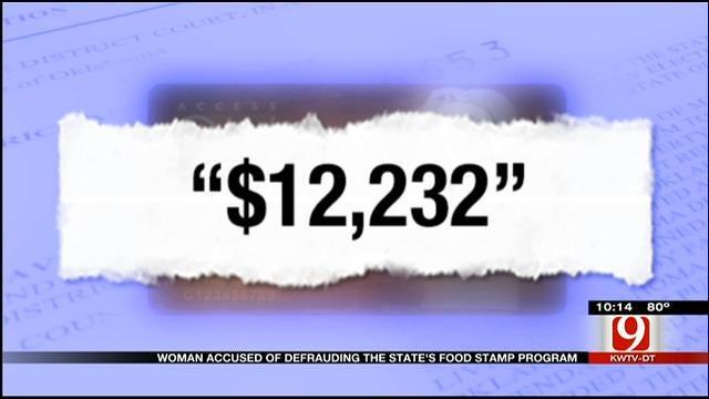 Woman Accused Of Defrauding Oklahoma Food Stamp Program